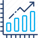 research, growth, statistics, charts, report, graph, analysis icon