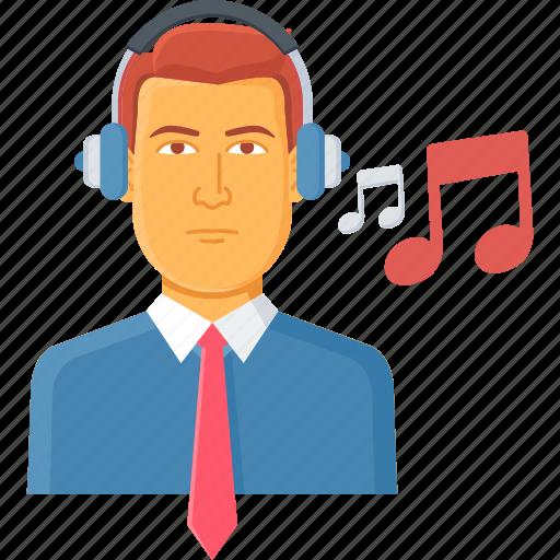 audio, listening, media, music, musical, sound, video icon