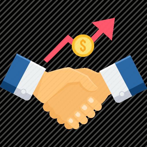 agreement, contract, deal, finance, handshake, partnership, shakehand icon