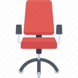 armchair, chair, furnishings, furniture, office chair, officer, seat icon