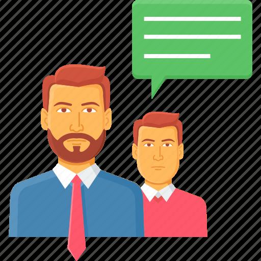 Chat, communication, conversation, inform, information, message, talk icon - Download on Iconfinder