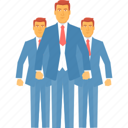 business, client, customers, man, manager, people, team icon