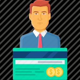 atm, bank, banking, card, credit, debit, service icon