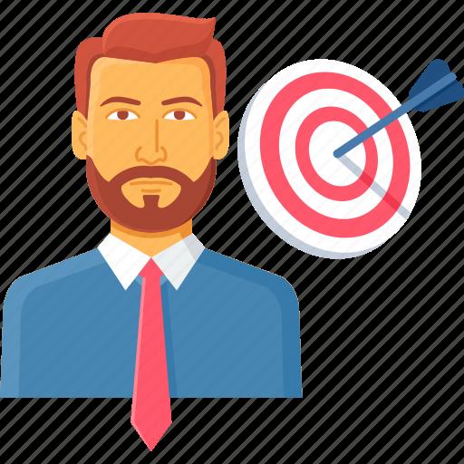 aim, business, focus, goal, shoot, shooting, target icon