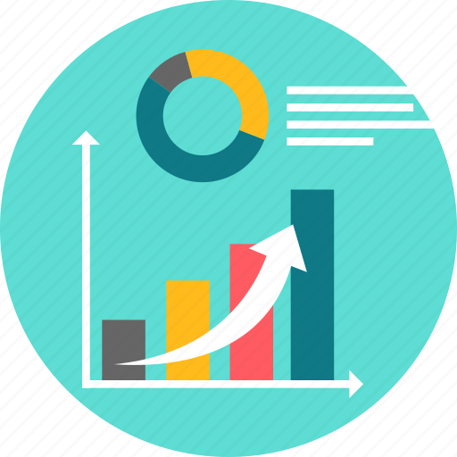 analysis, chart, graph, growth, presentation, report, statistics icon