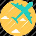 business tour, tour, travel, trip, aeroplane, flight, plane