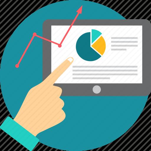 analytics, data, graph, presentation, report, statistics icon