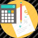 calculation, payment, calculator, computation, result, sum