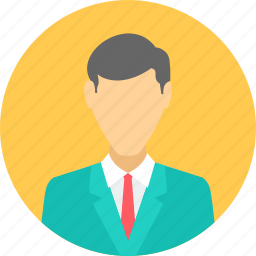 avatar, businessman, manager, person, professional, profile, user icon