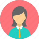 business, woman, female, business woman, loyal, professional, profile icon