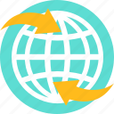 communication, connectivity, global, internet, network, seo, wireless icon