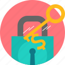 key, lock, password, privacy, security icon