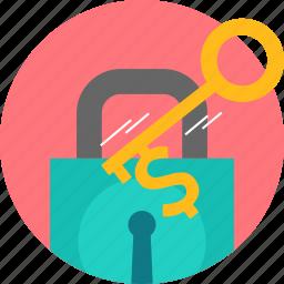 key, lock, password, privacy, security icon