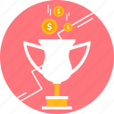 achievement, award, bonus, reward, trophy icon
