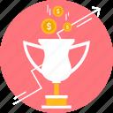 achievement, award, bonus, reward, trophy