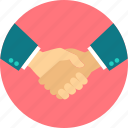 agreement, business, deal, gesture, hand, handshake, partnership icon