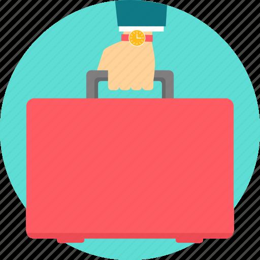 baggage, briefcase, business, portfolio, suitcase icon