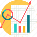 analysis, data, graph, growth, progress, report icon