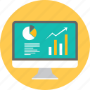 analytics, chart, data, graph, presentation, report, statistics icon