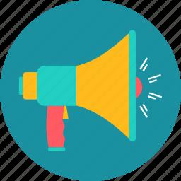 advertising, communication, marketing, promotion, seo, sound icon