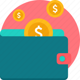 cash, currency, finance, funds, money, savings, wallet icon