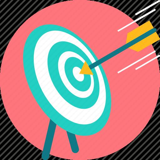 dart, dartboard, focus, goal, target icon