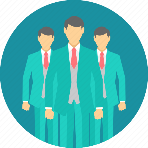 business, businessman, group, man, men, people, team icon