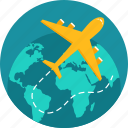 aeroplane, airplane, aviation, flight, plane, travel, travelling icon