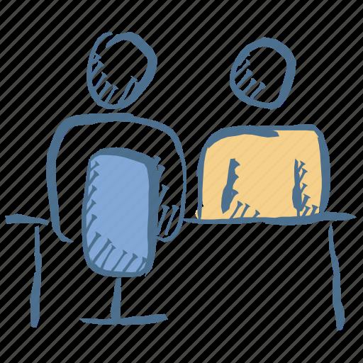 Employment, interview, meeting, recruitment, teamwork icon - Download on Iconfinder