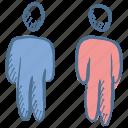 consult, group, speak, speaking, standing, talk icon