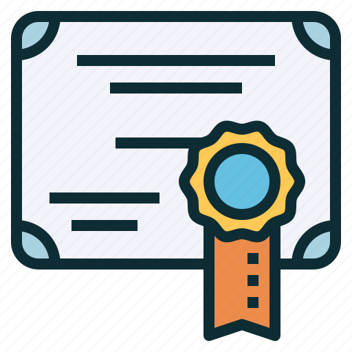 certification, document, guarantee, official, warranty icon
