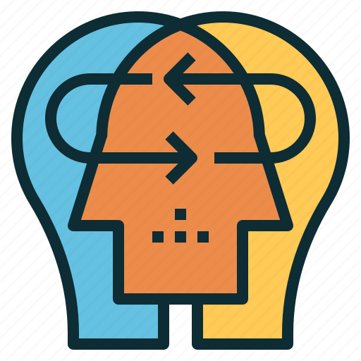 brainstorming, collaboration, communication, empathy, skill, working icon