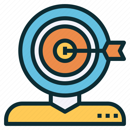 audience, customer, goal, marketing, seo, target icon