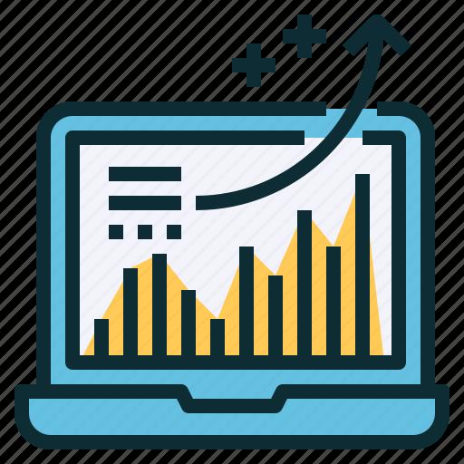 analysis, analytics, chart, stock, technical, trend icon