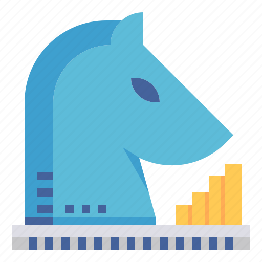 business, chess, horse, marketing, planning, strategy icon