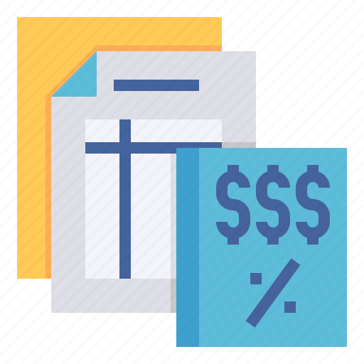 business, calculation, expense, payment, revenue, tax icon