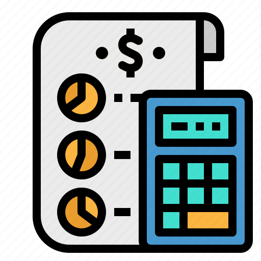 business, calculator, cost, finance, money icon