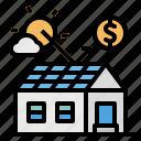 cell, ecology, energy, money, solar