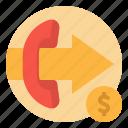 communication, cost, phone, speaker, telecom icon