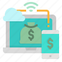 computer, cost, moniter, webpage, website icon