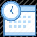 bulb, business, clock, desk, job, light, overtime icon