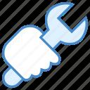 business, equipment, job, repair, service, tools, work icon