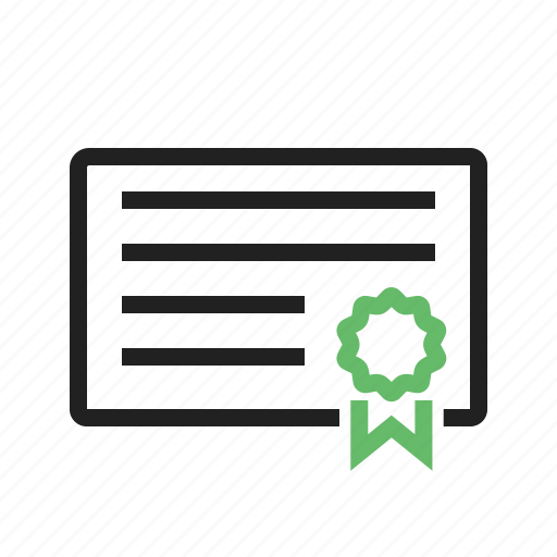 award, certificate, diploma, frame, gift, prize icon