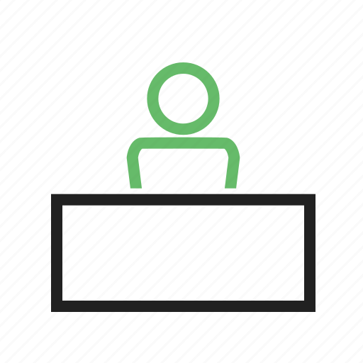 business, computer, corporate, desk, office, people, work icon