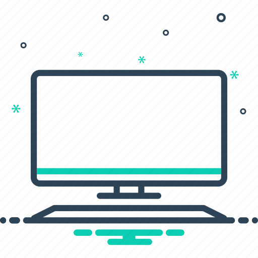 computer, device, monitor, pc, screen, software, technology icon