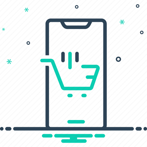 browsing, ecommerce, online shopping, purchasing, spending, supermarket, trolly icon