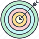 business, economy, finance, goal, objective, pastel, target