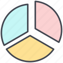 business, chart, diagram, economy, finance, graph, pastel icon