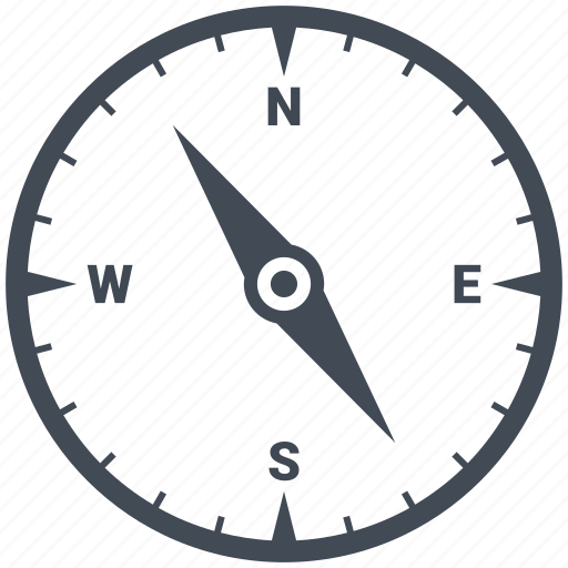 business, compass, direction, location, navigation, office, target icon