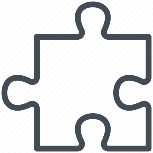 business, management, marketing, piece, puzzle, solution, strategy icon